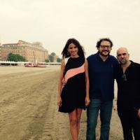 Goya Toledo apuesta por Dior para inaugurar la 72 edición de la Festival de Venecia
