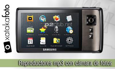 Reproductor mp3 con cámara de fotos, lo que faltaba