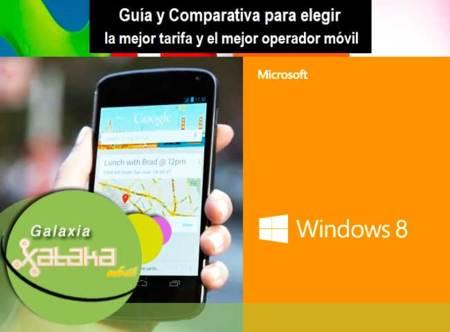 Desde el Nexus 4 y Windows 8 hasta una ayuda para elegir tarifa móvil. Galaxia Xataka Móvil