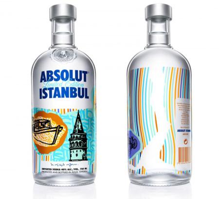 Absolut Istanbul diseñada por Yigit Yazici
