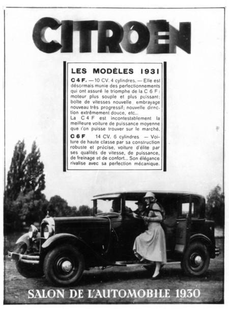 1928. Citroën C4 y Citroën C6 Familiale