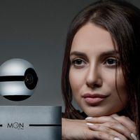 Moon, un sistema de seguridad con cámara que levita para ofrecerte vigilancia de 360 grados
