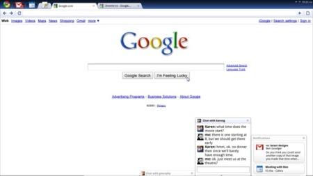 Chrome OS funcionando