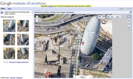 Google Building Maker, colabora para crear representaciones 3D de los edificios