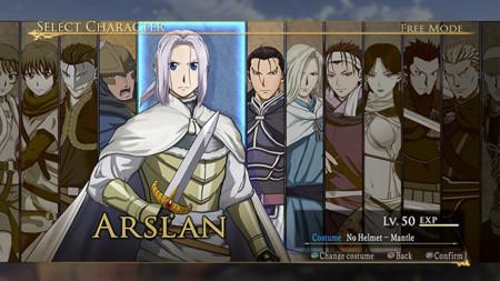 El videojuego de Arslan: The Warriors of Legend también llegará a Steam