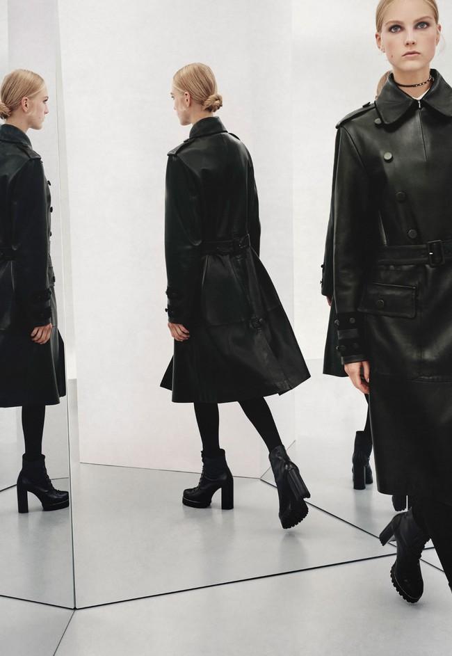 zapatos zara negros total black