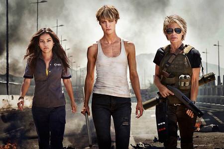 Terminator 6 Natalia Reyes Mackenzie Davis Linda Hamilton Mejores Estrenos 2019