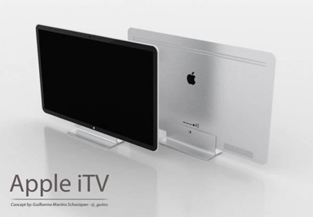 Concepto del televisor de Apple