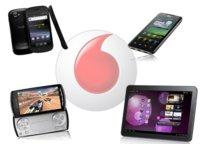 Nexus S, Optimus 2X, Xperia Play y el tablet de Samsung (350 euros), para Vodafone