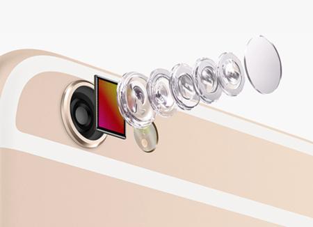 Apple parece haber conseguido usar el mismo sensor con las cámaras delantera y trasera de sus móviles