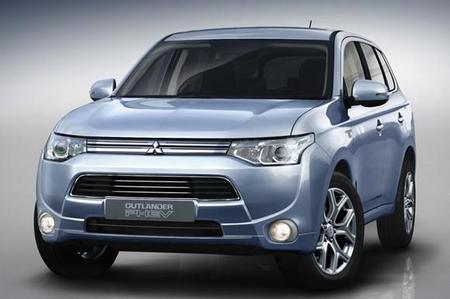 Mitsubishi presentará una versión enchufable del Outlander en el salón de París