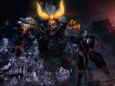 Nioh muestra una impresionante batalla contra un jefe final en un gameplay desde una PS4 Pro