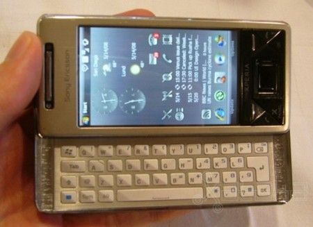 Sony Ericsson XPERIA X1: más datos