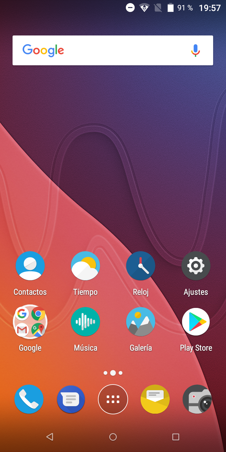 Software del Wiko VIEW