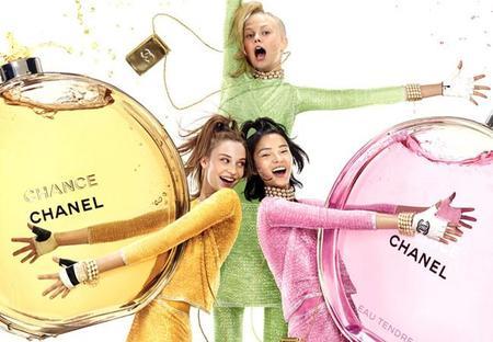 Chanel inaugura el año deseándonos mucha Chance para el 2015