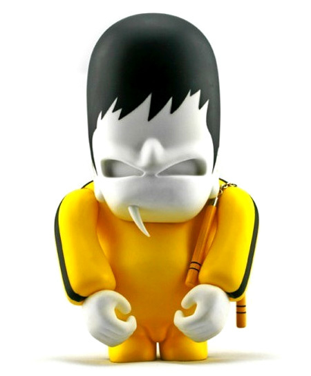 Un toy muy personal de Bruce Lee por Nothing Studio