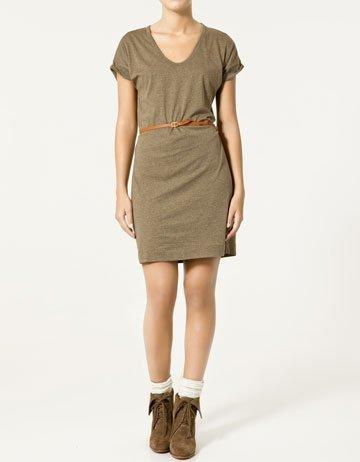 Rebajas 2011: Zara vestido militar