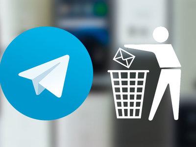 Cómo eliminar mensajes de Telegram para el emisor y el receptor