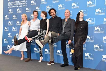 Imagen de la premiere de Birdman en el Festival de Venecia