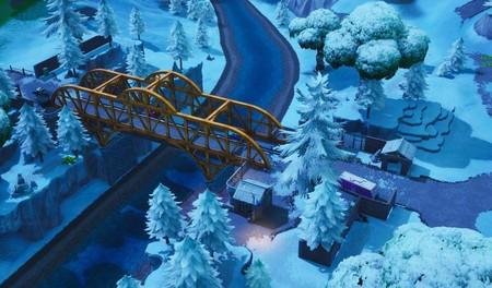 Desafío Fortnite: busca piezas de rompecabezas bajo puentes y en cuevas. Solución