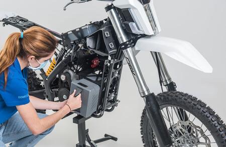 Dayna Moto Electrica Offroad Salvamento Rescate 2