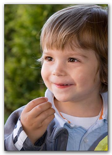 La foto de tu bebé: la sonrisa de Martín