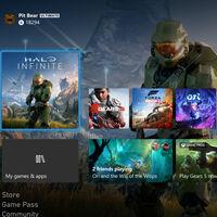 Xbox Series X da un salto de resolución, ofrece 4K nativo en su interfaz y añade modo nocturno con su última actualización
