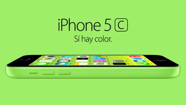 Nuevo iPhone 5c