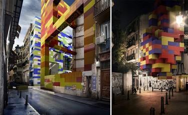 Reconstruyendo espacios en Valencia con Lego