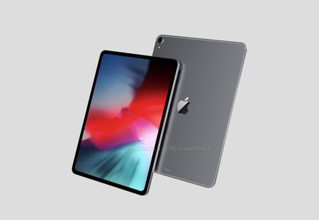 Los renders del iPad Pro de 2018 nos muestran una tablet sin apenas marcos y con un Smart Conector reubicado