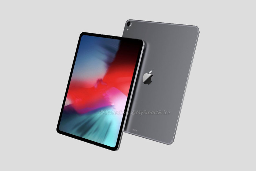 Los renders del iPad Pro de 2018 nos muestran una tablet sin apenas ...