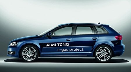 Audi e-gas project: A3 TCNG (gas natural comprimido)