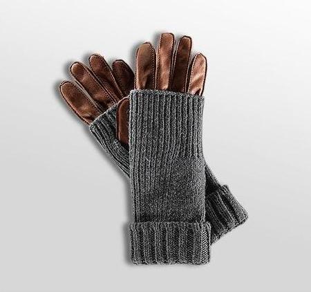Boss Orange y sus guantes-mitones, Colección Navidad 2009