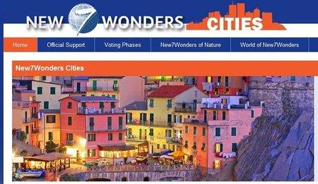 Ahora se elegirán las 7 ciudades más maravillosas