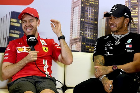 Vettel Hamilton Coronavirus Australia F1 2020