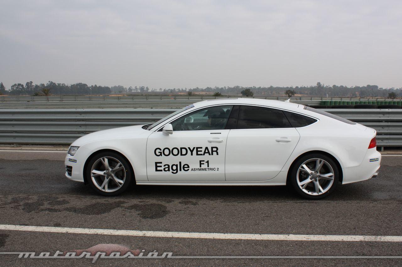 Foto de Goodyear Eagle F1: Audi TT RS, Audi A7 y Mercedes CLS (19/79)