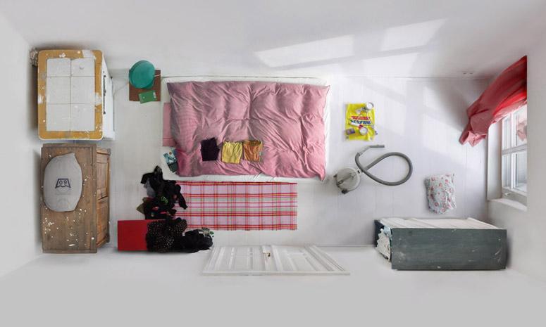 """Foto de """"Room portraits"""", habitaciones retratadas desde un nuevo ángulo por Menno Aden (3/7)"""