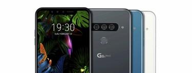 LG G8 ThinQ: triple cámara trasera y doble cámara frontal con ToF para un terminal que reconocerá hasta la palma de tu mano
