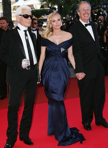 Diane Kruger espectacular en la ceremonia de clausura del Festival de Cannes