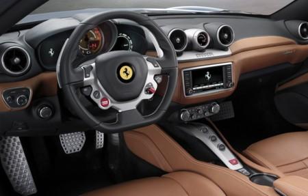 Ferrari California T salpicadero