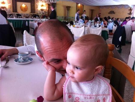 La foto de tu bebé: Sarah con papá