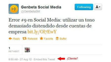 Twitter deja de mostrar desde qué cliente se envía cada tweet, sigue la guerra con los clientes de terceros