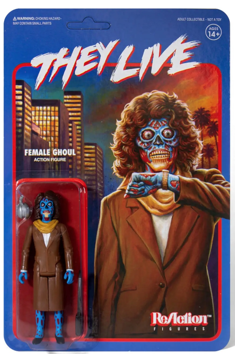 Figura Reaction They Live