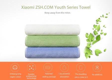 Xiaomi Towel, la toalla de Xiaomi, por 4,22 euros y envío gratis con este cupón