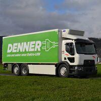 El Renault D Wide Z.E. es el primer camión eléctrico con paneles solares de Renault, y ya trabaja abasteciendo supermercados