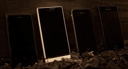 Sony Xperia S desenfunda su cámara contra iPhone 4S, Samsung Galaxy SII y Nokia Lumia 800 [en vídeo]