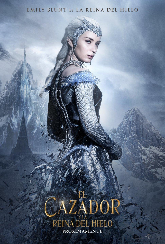 Foto de 'El cazador y la reina del hielo', carteles de la secuela de 'Blancanieves y la leyenda del cazador' (8/8)