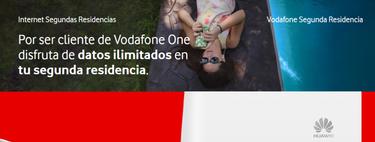 Vodafone estrena servicio de internet para segundas residencias por 25 euros: diferencias con Movistar y Orange