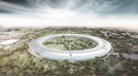 El cuartel general de Apple lucirá así de bien en 2015