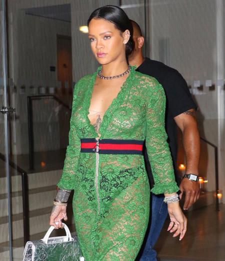 Vestido verde gucci